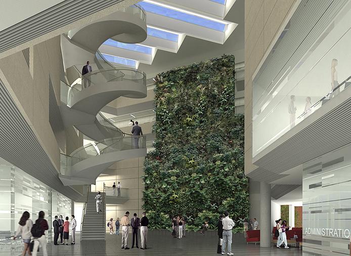 Buildings papadakis integrated sciences building drexel - Drexel planning design and construction ...